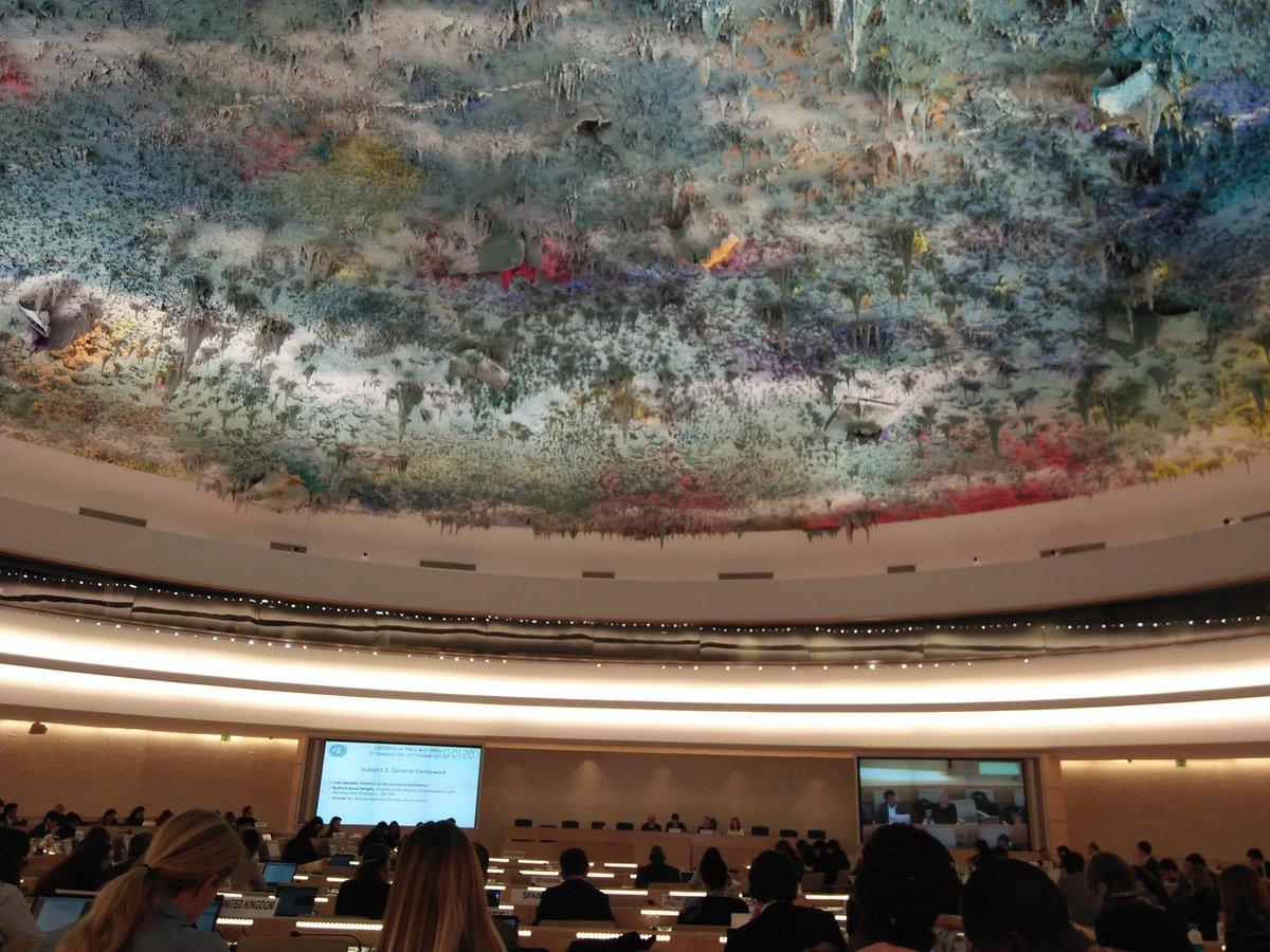 Intervenció de l'ODHE en la 3 ª sessió del Grup OEIGWG sobre Corporacions Transnacionals per a un #TractatVinculant a l'ONU